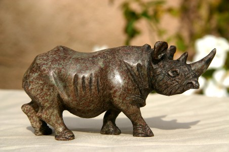 Cute Serpentine Rhino