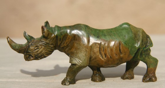 Little Verdite Rhino